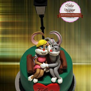 Rabbits love cake - Cake by Machus sweetmeats