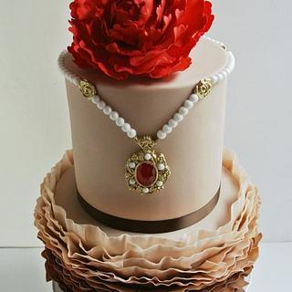 Ruby Cioccolato Amore - Cake by Tea Party Cakes
