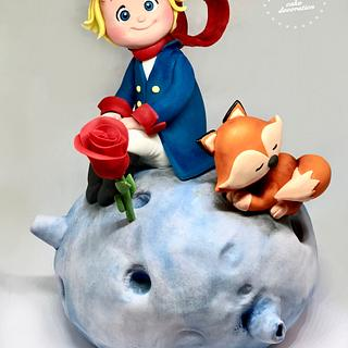 Little prince, fondant cake decoration