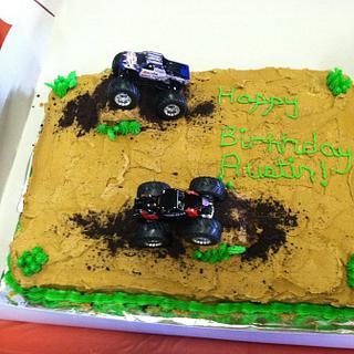 Monster Truck Cake - Cake by Bridget
