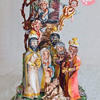 Cuando los Reyes vieron al nino! Crin.sugarart