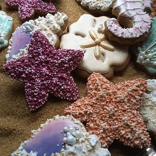Star fish - Cake by Teri Pringle Wood