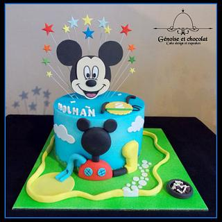 Mickey mousse clubhousse cake