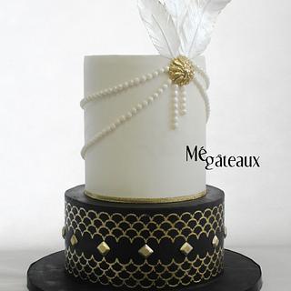 Gatsby wedding - Cake by Mé Gâteaux
