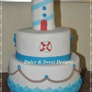 Nautical Cake - Cake by Dulce & Sweet designs