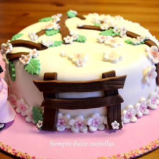 Tarta Geisha en Japón  - Cake by Siempre dulce cocinillas