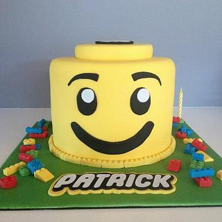 """""""Patrick the Lego Head"""""""