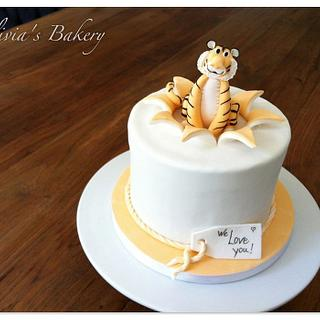 Little Tiger Cake - Cake by Olivia's Bakery