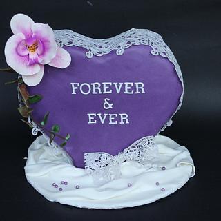 Purple love - Cake by saema