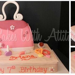 Little Girl's Purse Cake - Cake by Viviana & Guelcys