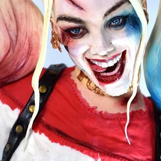 "Harley Quinn for ""Cake Con Collaboration"" 2017"