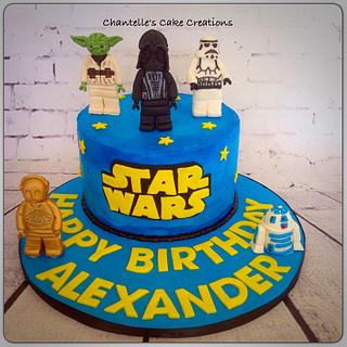 Star Wars lego - Cake by Chantelle's Cake Creations