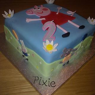 Peppa Pig - Cake by sas
