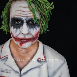 Joker - The Dark Knight - Cake by Nicola Gerrans