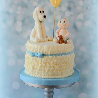 Smash Cake for Isaac