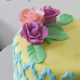 Tropical Pastel - Cake by Prajakta Agnihotri