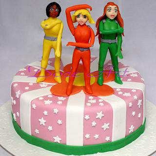 Totally Spies cake
