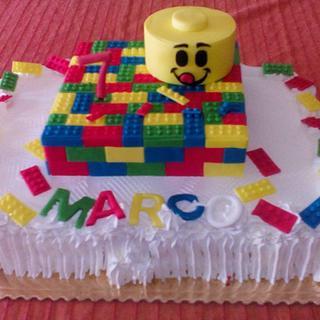 TORTA LEGO  - Cake by FRANCESCA