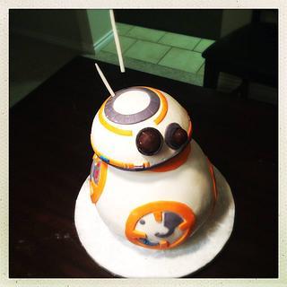 BB8 cake - Cake by Mycakecorner