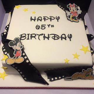 Classic disney character birthday cake - Cake by Mulberry Cake Design