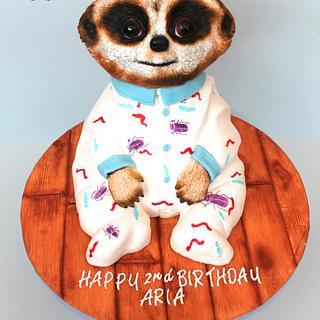 Baby Oleg - The Meerkat Cake