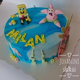 Spongebob cake - Cake by Jovaninislatkisi