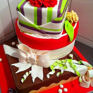 Company Cake - Cake by Olivia's Bakery