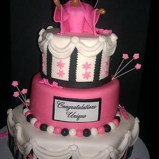 Graduation - Cake by Erica Floyd Bradley