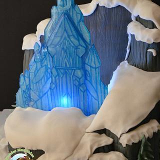 Let it GOOOOO, Frozen Cake - Cake by Chef Mitchie