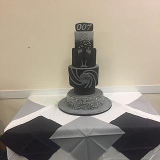 James Bond - Cake by Carole's Cakes