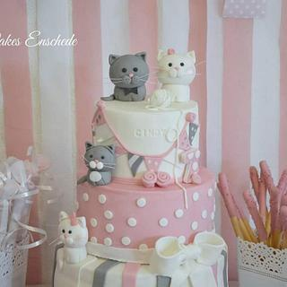 Kitty cat cake!