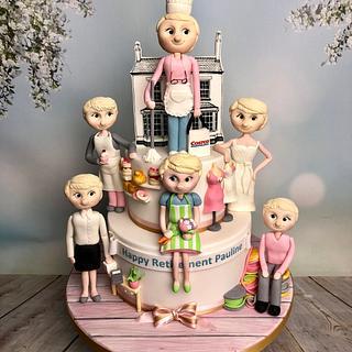 Pauline's Retirement cake