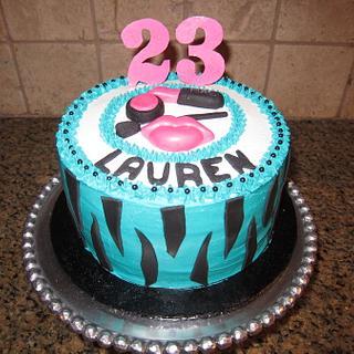 make-up cake - Cake by vkylyn