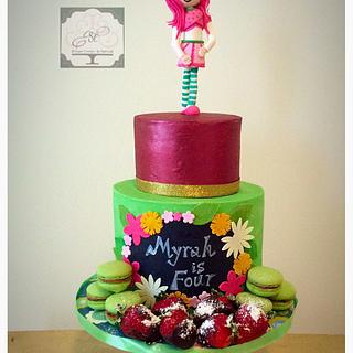 Strawberry shortcake! - Cake by Sugar coated by Nehha
