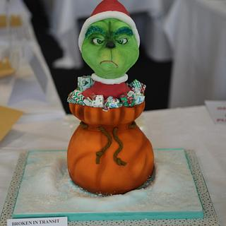 He's a mean one. - Cake by AmyLea