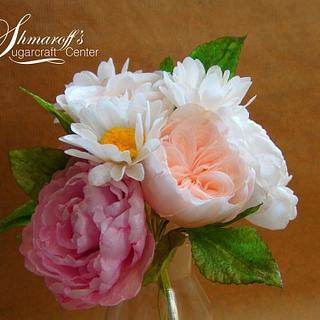 Wafer Paper Summer Bouquet