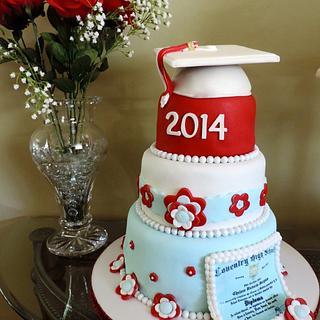 Graduation Cake - Cake by Lisa