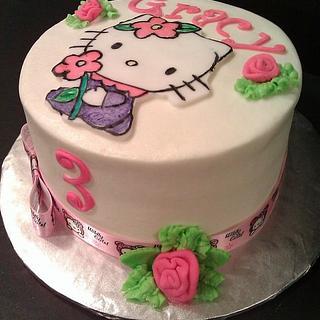 Hello Kitty - Cake by Jody Wilson