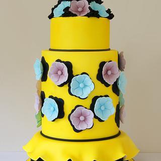 Viktor & Rolf Inspired Cake
