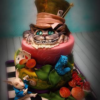 Alice in Wonderland 4 - more Tim Burton version