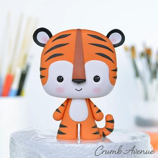 Tiger - Cake by Crumb Avenue