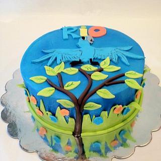 Rio - Cake by Dawn Henderson