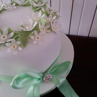 Pretty Springtime Cake