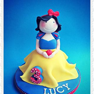 How to Make a Princess Cake Topper!