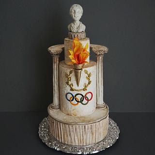 olympic cake - Cake by Torty Zeiko