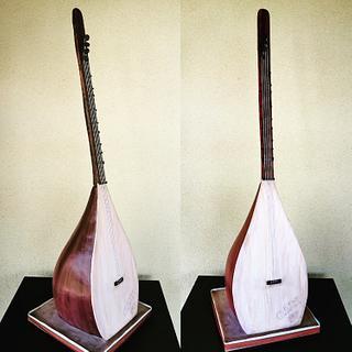 1m tall Sargija - Bosnian musical instrument