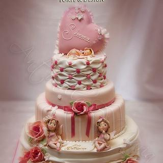 new Baby Shower cake - Cake by Antonella Di Maria