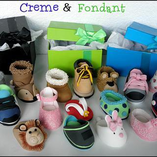 Fondant shoes