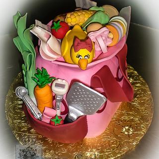My mommy the Chef - Cake by Regina Coeli Baker