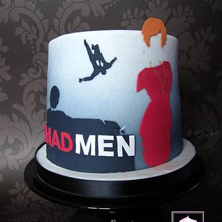MAD MEN cake